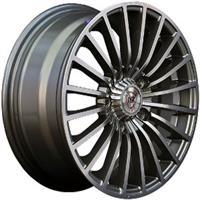 Колесный диск NZ SH597 6x14/4x100 D73.1 ET40 насыщенный темно-серый полностью полированный (GMF)