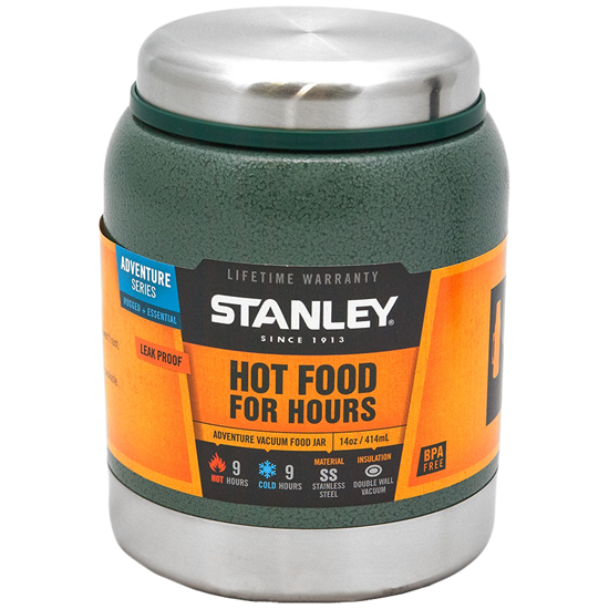 Термос STANLEY Adventure Food 0,41L Зеленый (10-01610-006), 1001610006