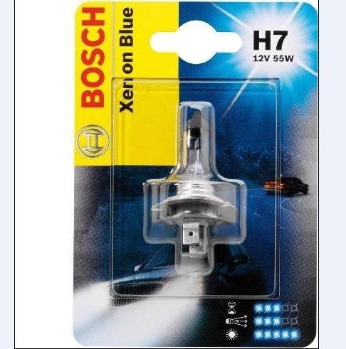 Лампа Xenon Blue, 12 В, 55 Вт, H7, PX26d, BOSCH, 1 987 301 013