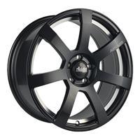 Колесный диск Advanti MK512U 6x15/4x100 D60.1 ET45 матовый чёрный с гравированным логотипом advanti