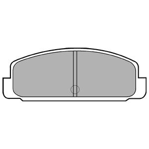 Колодки дисковые, DELPHI, LP401