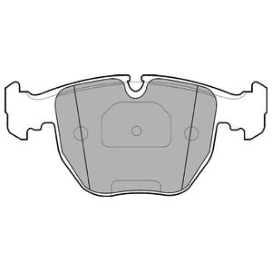 Колодки дисковые, DELPHI, LP1003
