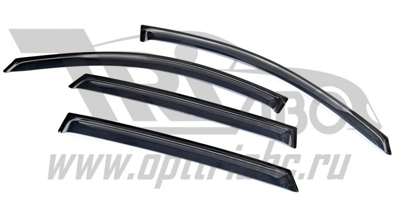 Дефлекторы боковых окон Hyundai IX55 (2008-) (4дв) (темн), SHYIX550832