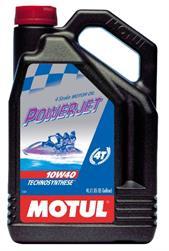 Моторное масло MOTUL Powerjet 4T, 10W-40, 4л, 105874
