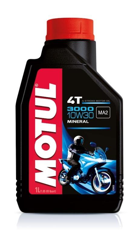 Моторное масло MOTUL 3000 4T, 10W-30, 1л, 104042