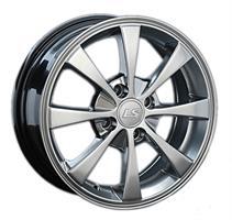 Колесный диск LS Wheels 391 7x16/5x105 D56.6 ET36 черный полированный (BKF)