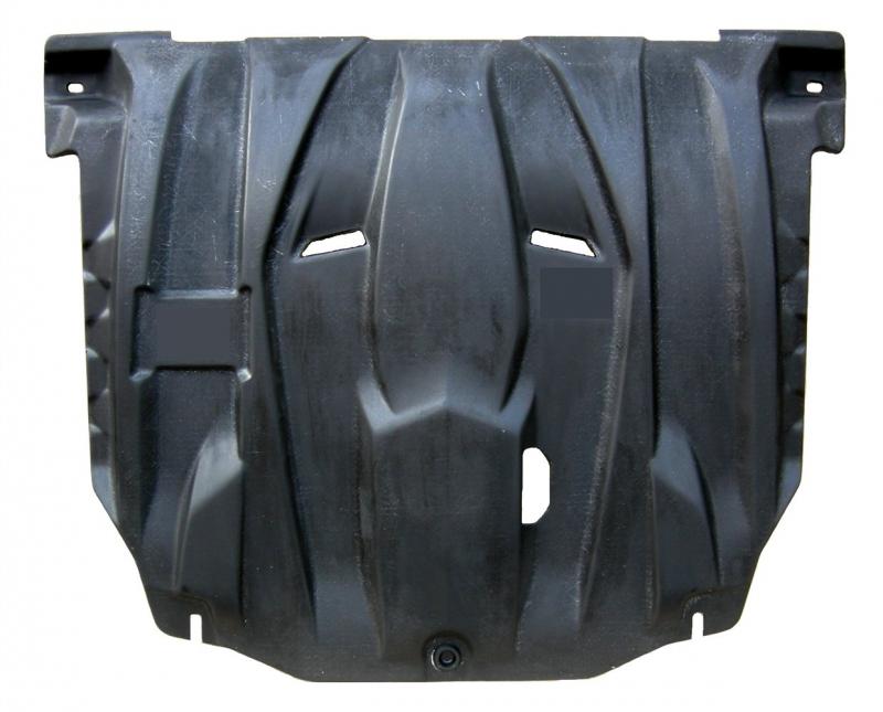 Защита картера двигателя и кпп KIA Rio (V-все, 2011-) + КПП(Композит 6 мм), 1121K