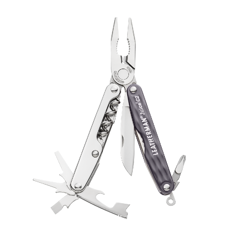 Мультитул Leatherman Juice С2 (Джус Си2) серый гранит, 831980