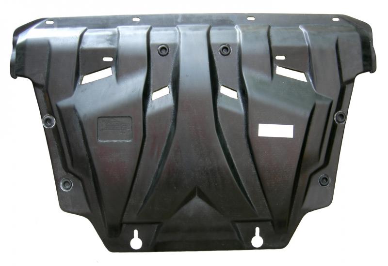 Защита картера двигателя и кпп Toyota Rav 4, V-все(2006-2013) (Композит 6 мм), 2402K