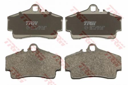 Колодки дисковые Задние, TRW, GDB1395