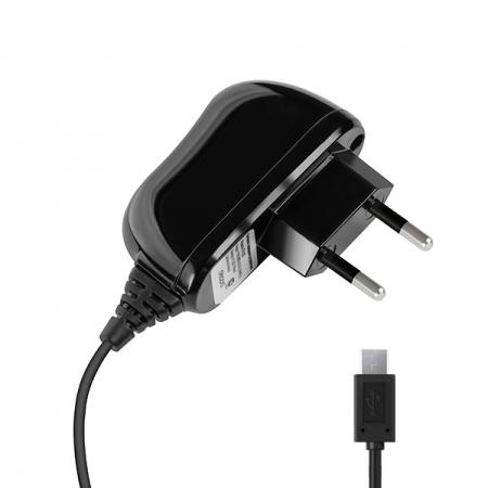 СЗУ micro USB для цифровых устройств, 2A, черный, Deppa, 23141