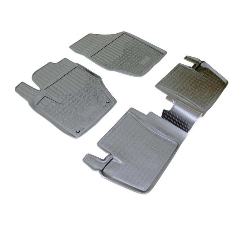 Коврики салона для Peugeot (Пежо) 408 (2012-) / Citroen (Ситроен) C4 (N) Седан (2013-), NPA11C64350