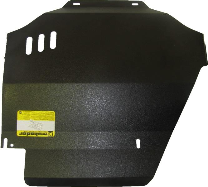 Защита картера КПП, РК VW Touareg 2003-2010 V=2,5 TD, 2,2D (сталь 3 мм), MOTODOR12704