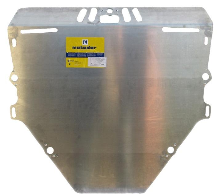 Защита картера двигателя, КПП Honda CR-V III 2007-2012 V= все (алюминий 5 мм), MOTODOR30803