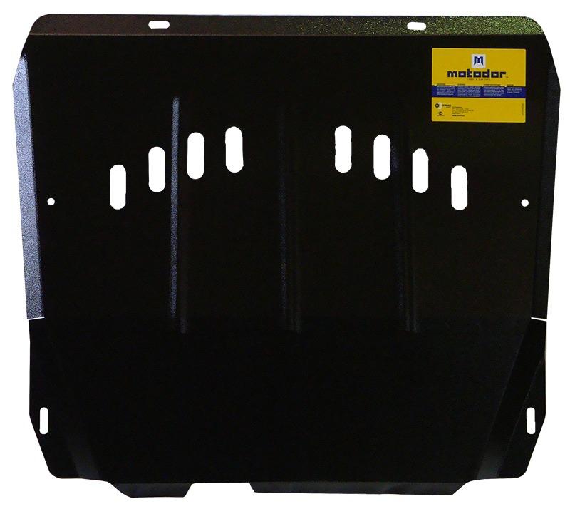 Защита картера двигателя, КПП CADILLAC SRX II 2010- V=3,0 (сталь 3 мм), MOTODOR03501