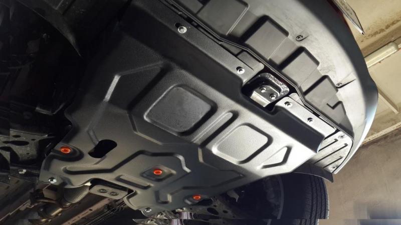 Защита картера двигателя и кпп Chery Tiggo 5, V-все (2014-) (Сталь 1,8 мм), 28768C2