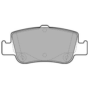 Колодки дисковые, DELPHI, LP2103