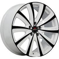 Колесный диск Yokatta MODEL-22 6.5x16/5x114,3 D66.1 ET45 белый +черный (W+B)