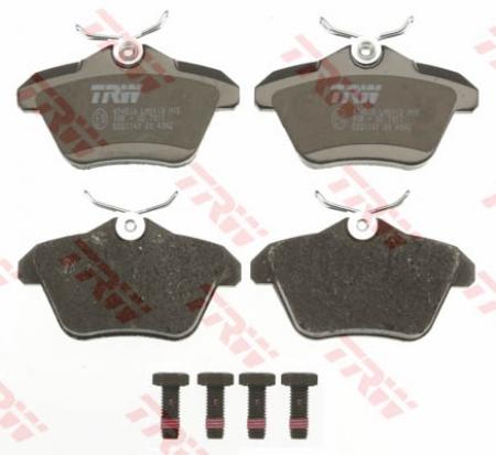 Колодки дисковые Задние, TRW, GDB1147
