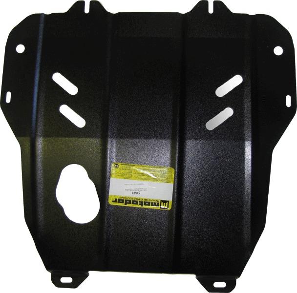 Защита картера двигателя, КПП Opel Meriva B 2010- V=1,3TD (сталь 2 мм), MOTODOR01528