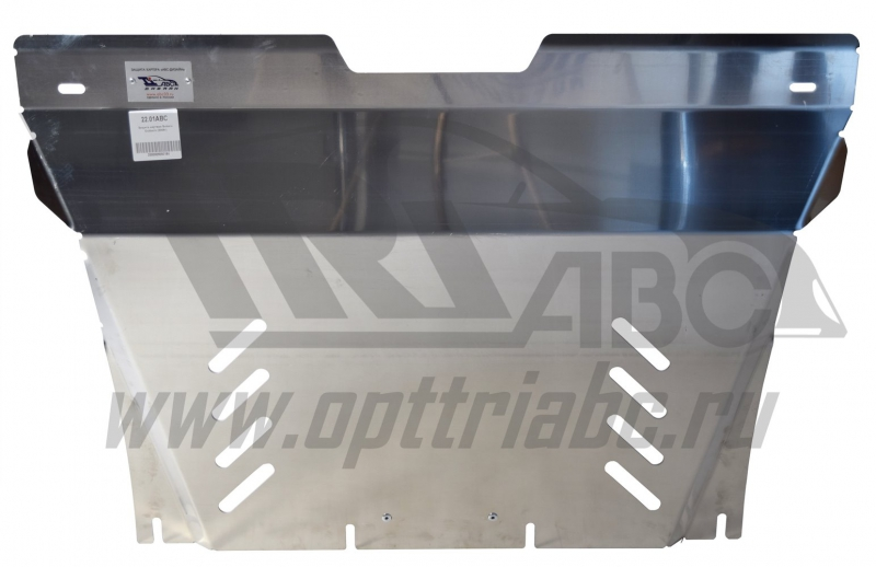 Защита картера Subaru Outback (2009-2014-03.2016) (Алюминий 4 мм), 2201ABC