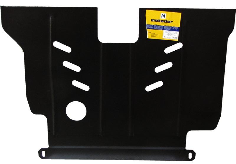Защита картера двигателя, КПП CHRYSLER Neon 1994-2000 V= все (сталь 2 мм), MOTODOR00302