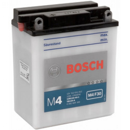 Аккумуляторная батарея Bosch Funstart FreshPack, 12 В, 12 А/ч, 120 А, 0092M4F300