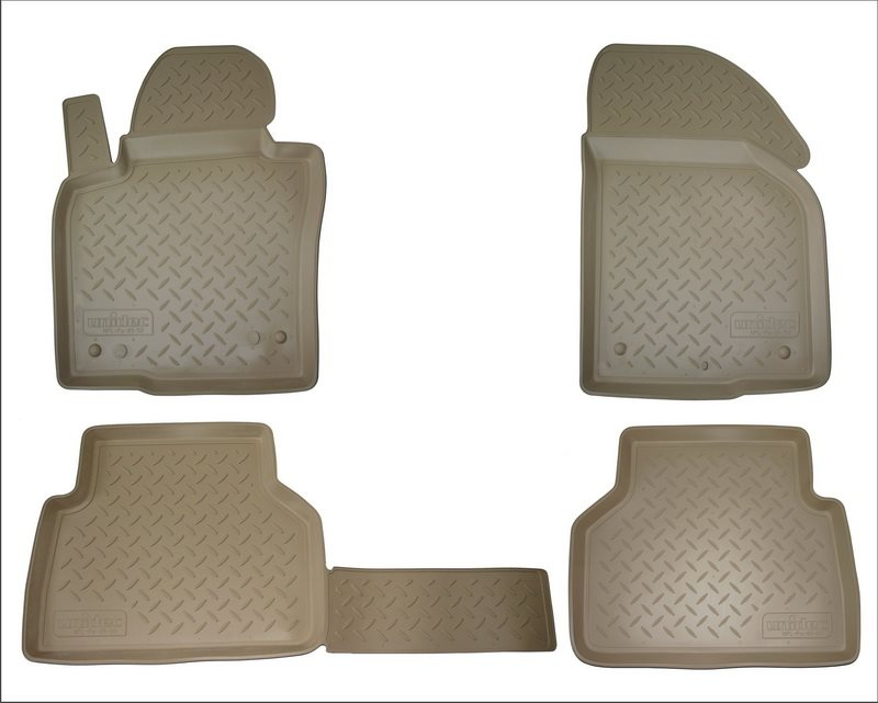 Коврики салона для Nissan Teana (2014-) Бежевый, NPA10C61712BEIGE