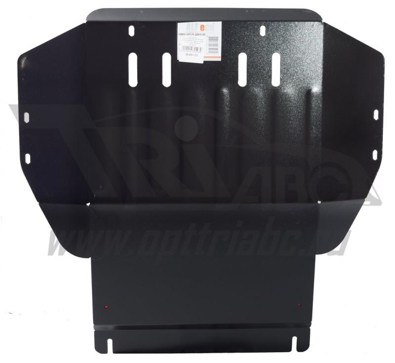 Защита картера двигателя VW Caddy, V-1.6,1.8(96-02)/VW Passat V-1.8,2.0(88-97)/Seat Toledo V-1.4,1.6