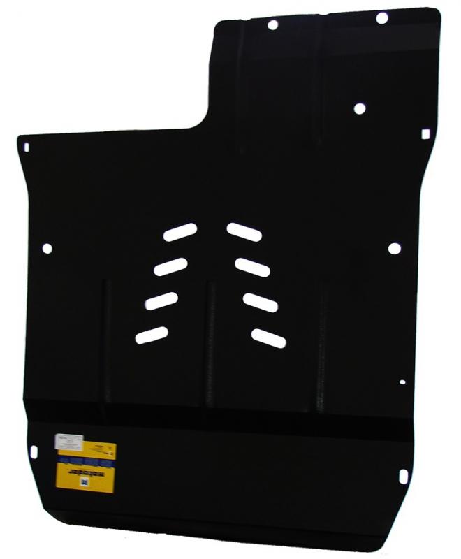 Защита картера двигателя, КПП, кондиционера, генератора MB А-класс V= все (1998-2005)(сталь 2 мм), M
