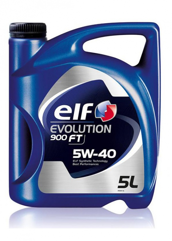 Моторное масло ELF Evolution 900 FT, 5W-40, 5л, 194886