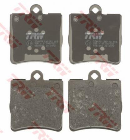 Колодки дисковые Задние, TRW, GDB1545