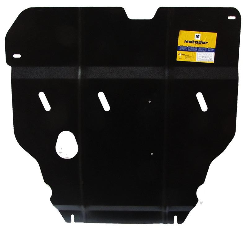 Защита картера двигателя, КПП MITSUBISHI GALANT седан (DJ_, ED_, EF_) 2003-2006 V=2,4 (сталь 2 мм),