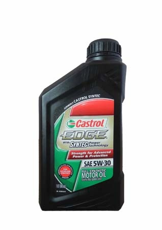 Моторное масло CASTROL EDGE With Syntec Power Technology, 5W-30, 0,946л, 6248