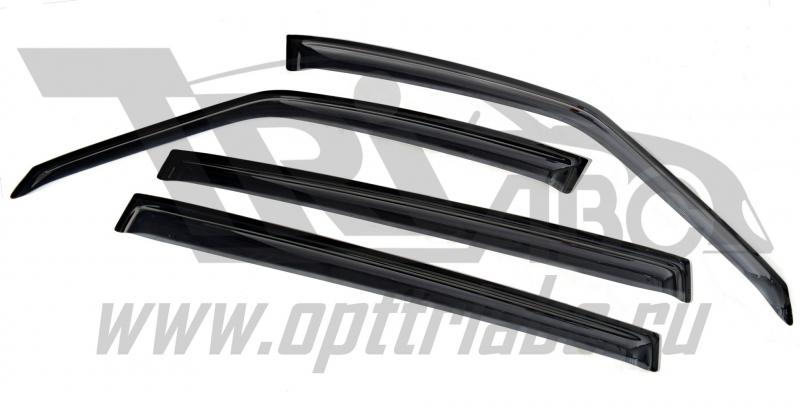 Дефлекторы боковых окон Opel Zafira III Tourer (2011-) (4шт.) (темные), SOPZAF1132