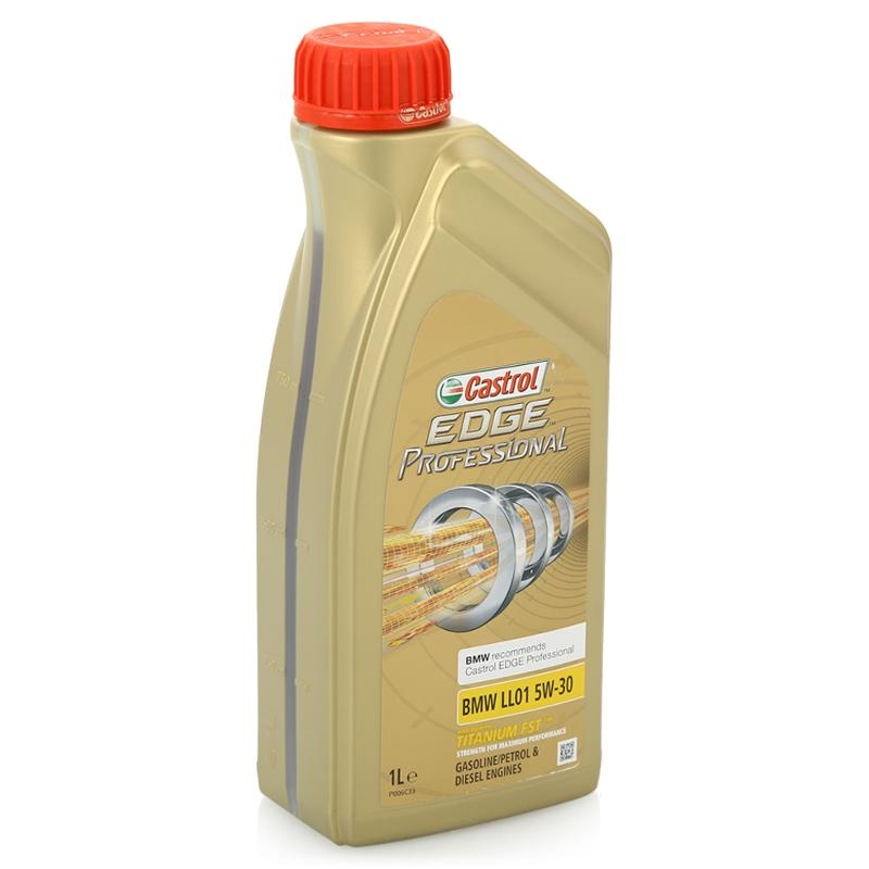 Моторное масло CASTROL EDGE Professional LL01 Titanium FST, 5W-30, 1л, 155BD9