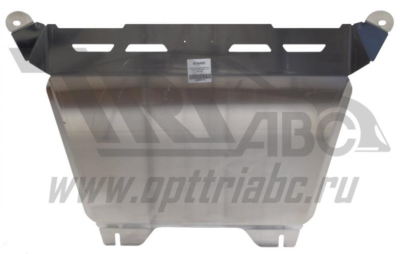 Защита картера двигателя и кпп Honda (Хонда) CR-V; V-2,0; 2,4 (2006-2012) (Алюминий 4 мм), 0904ABC