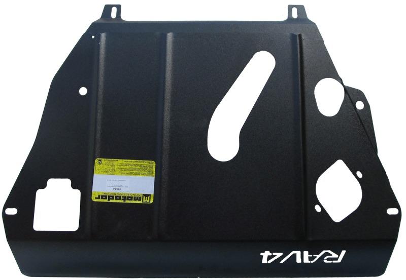 Защита картера двигателя, КПП Toyota RAV4 III 2006-2013 V= все (сталь 2 мм), MOTODOR02554