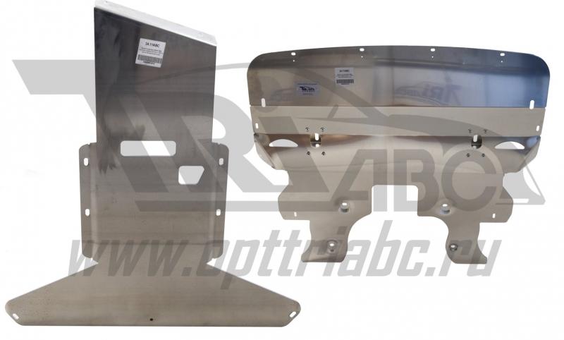 Защита картера двигателя и кпп BMW 5er, V-все, полный привод(12-)/BMW 7er, V-все, полный привод (12-