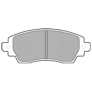 Колодки дисковые, DELPHI, LP1560