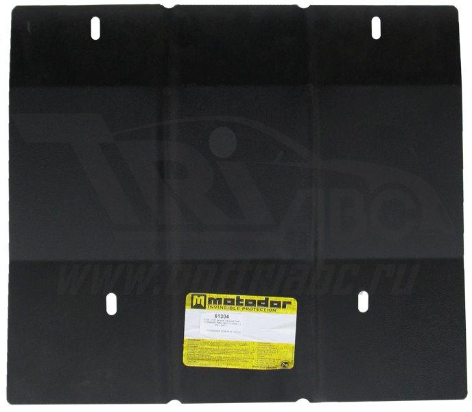 Защита картера КПП Mitsubishi L200 2006-2013 Mitsubishi Pajero Sport II 2008- V=2,5, 3,0, 3,2 (сталь