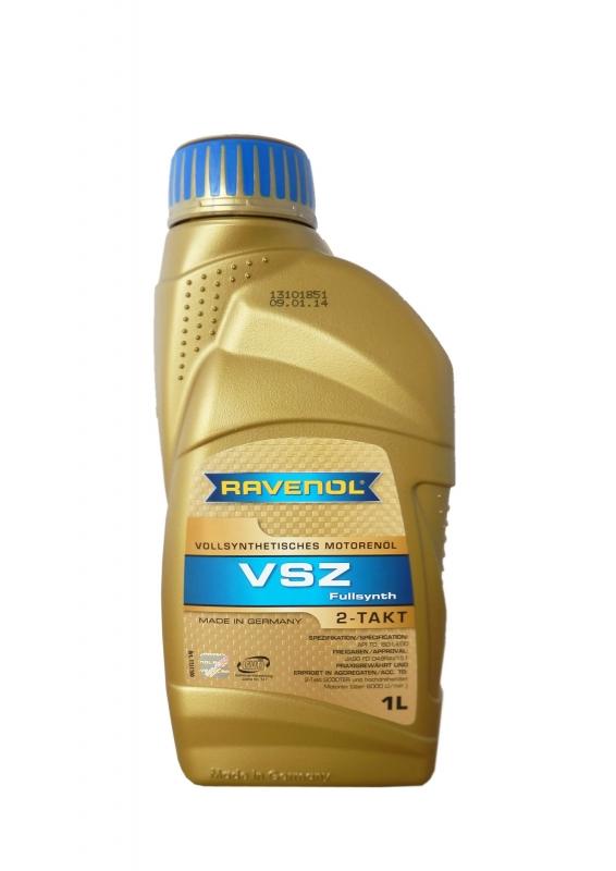 Моторное масло RAVENOL Vollsynthetisches Zweitakoel VSZ, 1 л, 4014835727212