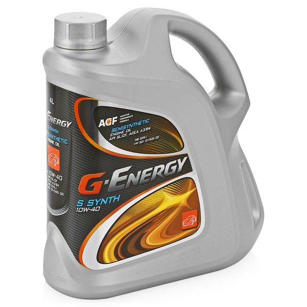 Моторное масло G-ENERGY S Synth, 10W-40, 5л, 8034108196039