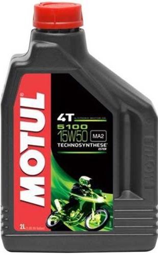 Моторное масло MOTUL 5100 ESTER, 15W-50, 2л, 104082