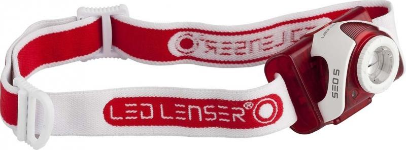 Фонарь налобный LED Lenser SEO5 RED к/уп, 6006