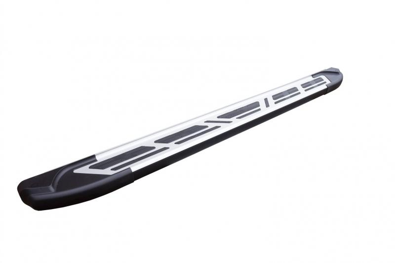 Пороги алюминиевые (Corund Silver) Toyota Venza (2013-), TOVE532510