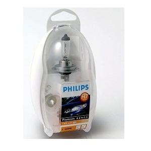 Лампа, 12 В, H7, PHILIPS, 55474EKKM