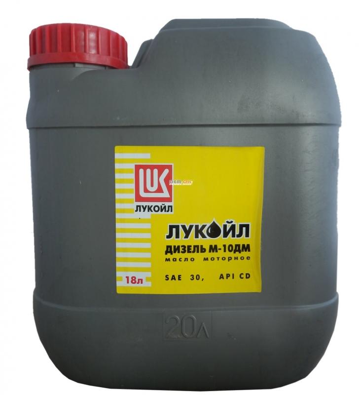 Моторное масло LUKOIL Дизель М-10ДМ, 30, 18л, 138579