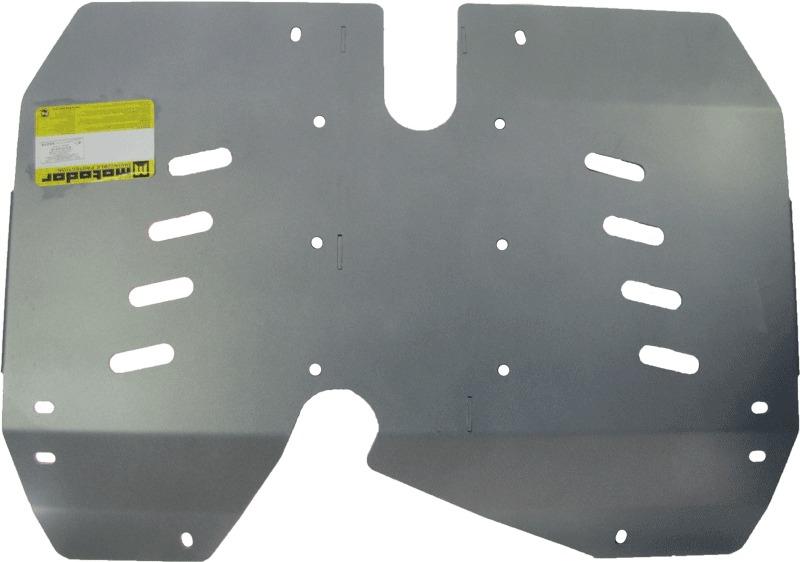 Защита картера бензобака LAND ROVER RANGE ROVER EVOQUE (LV) 2011- V=2,0Si; 2,4TD (алюминий 5 мм), MO