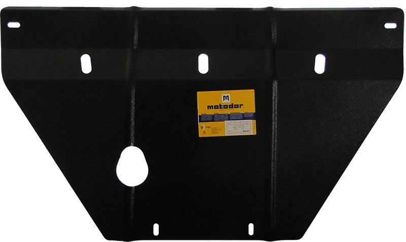 Защита картера двигателя, КПП Fiat Punto III 2005- V= все (сталь 2 мм), MOTODOR00607